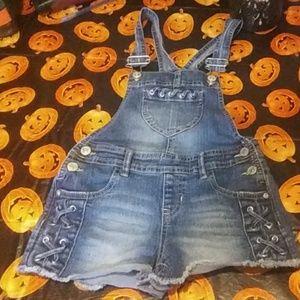 💓Girl's Overalls Shorts